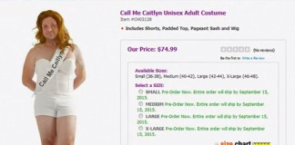 Retailers selling Caitlyn Jenner Halloween costumes have faced criticism on social media.