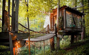Secluded Intown Treehouse (Atlanta, Georgia)