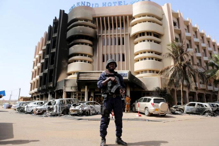 Splendid Hotel in Ouagadougou, Burkina Faso