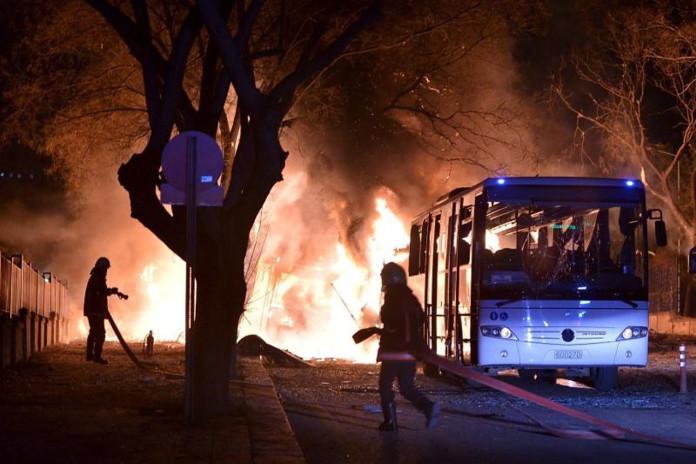 Car Bomb Attack on Military in Turkish Capital Kills 28