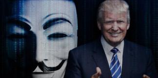 Anonymous Declares Total War on Donald Trump