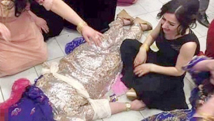 Father Posts Image Of Daughter Murdered By Brothers In Wedding Day Honor Killing