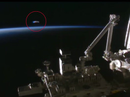 UFO Approaches International Space Station Before Zooming Off Into Space