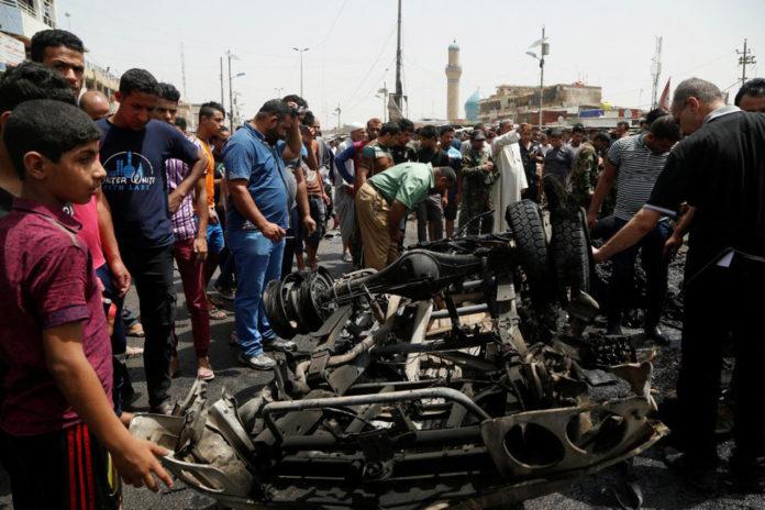 Car Bomb In Baghdad's Sadr City Kills At Least 52 People
