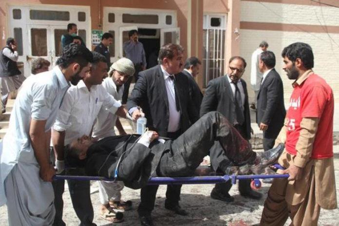 Terrorist Suicide Bomber Kills At Least 70 At Pakistan Hospital
