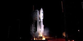 Atlas V Lift-Off For GOES-R Mission