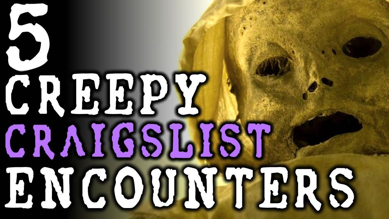 5 disturbing craigslist encounters dark horse news. Black Bedroom Furniture Sets. Home Design Ideas