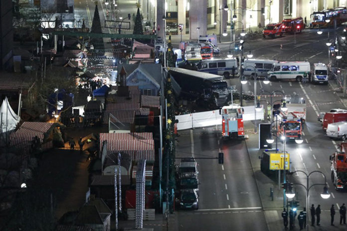 German Police Hunt Asylum-Seeker For Christmas Market Terrorist Attack