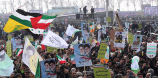 Hundreds Of Thousands Rally In Iran Against U.S. Chanting 'Death To America'