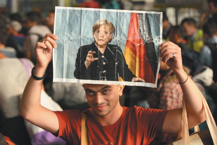 German Chancellor Angela Merkel Urges Europe To Take Even MORE 'Refugees'