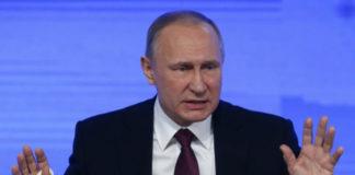 Vladimir Putin Says He Can Prove Donald Trump Did Not Pass Russia Secrets