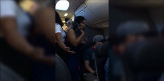 Disruptive Passenger Yells At Flight Attendant On American Airlines Flight