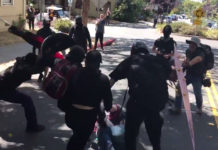 Violent Antifa Terrorists Descend On Berkeley Rally To Beat Up Trump Supporters