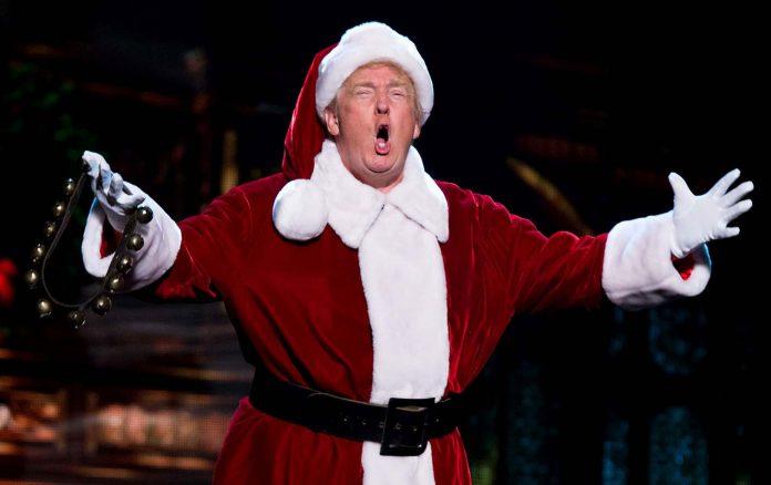 Trump Triumphs Tax Cuts For Christmas