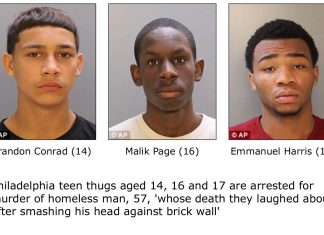 Teen Thugs Arrested For Murdering Homeless Man In Philadelphia