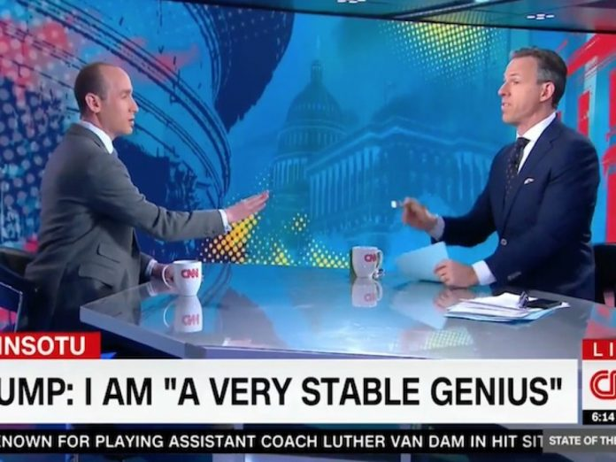 CNN's Jake Tapper Cuts Off Stephen Miller: 'I've Wasted Enough of My Viewers' Time'