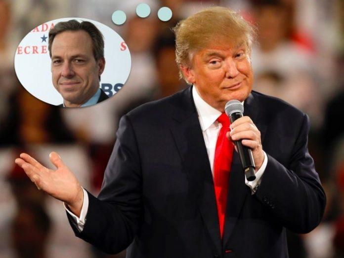 Donald Trump Mocks 'Hateful' Jake Tapper of 'Fake News CNN'