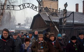 Poland Jails Two Men For Stripping Naked And Slaughtering A Lamb At Auschwitz