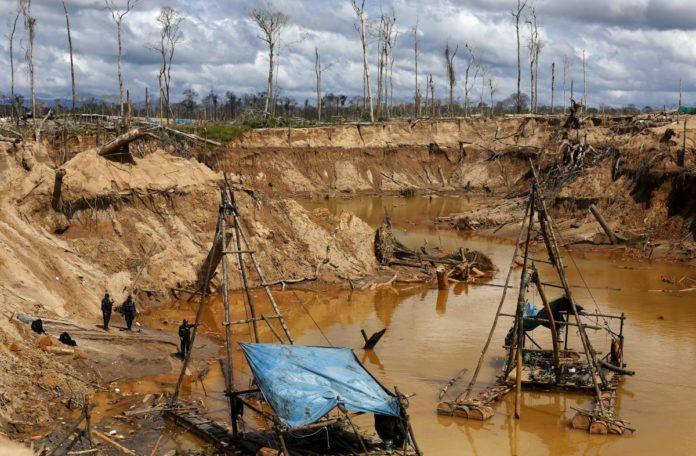 Pope's visit to Peru spotlights devastation in rainforest region
