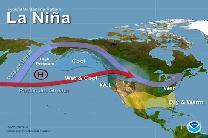 La Niña Likely To Fade By Spring