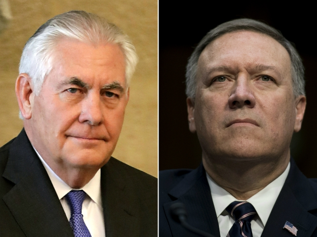 On Twitter, Donald Trump Announces Mike Pompeo as Secretary of State; Rex Tillerson Out