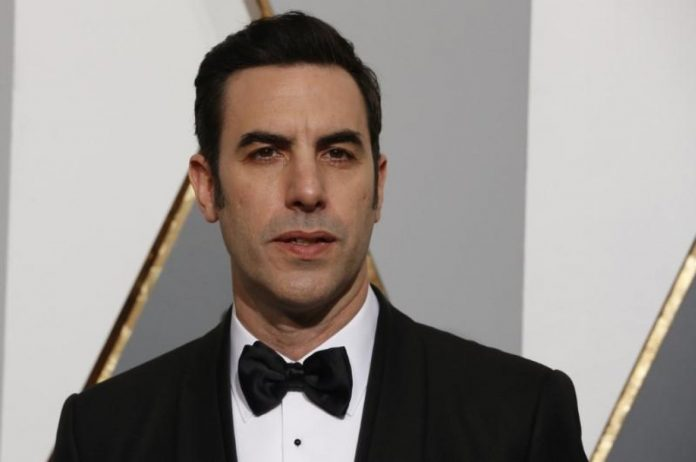 U.S. lawmakers shown backing fake kindergarten gun scheme in Sacha Baron Cohen satire