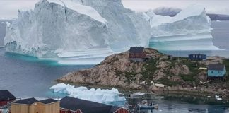 11-million-ton iceberg threatens to inundate tiny Greenland village with tsunami